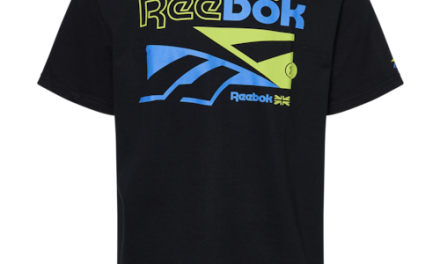 Reebok Mens Vector Break Out T-Shirt Black