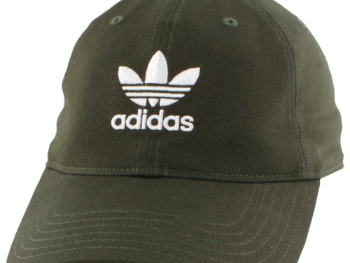 adidas Originals Mens Washed Relaxed Strapback Night Cargo/White