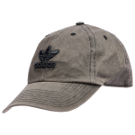adidas Originals Mens Relaxed Overdye Cap Black/Black