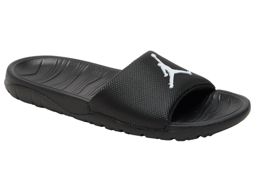 Jordan Boys Break Slide Basketball Shoes Black/White