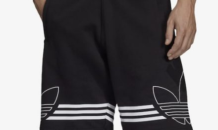adidas Originals Mens Outline Shorts Black/White