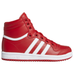 adidas Boys Top Ten Hi Shoes Red/White/Red