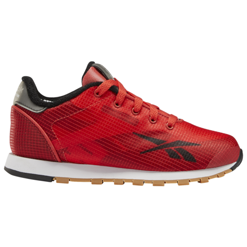 Reebok Boys Classic Leather Altered Shoes Primal Red/Black/Cold Grey