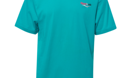 Reebok Mens Vector I3 T-Shirt Teal/Multi