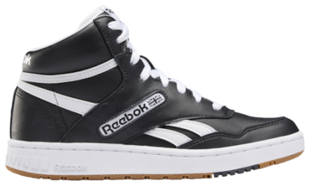 Reebok Boys BB 4600 Shoes Black/Gum