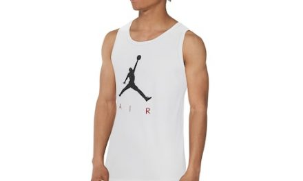 Jordan Mens Poolside Tank White