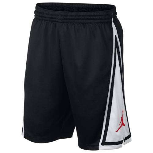 Jordan Mens Franchise Shorts Black/White