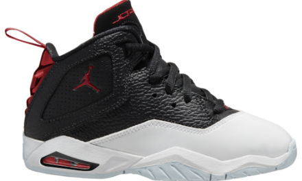 Jordan Boys B'Loyal Basketball Shoes Black/Varsity Red/White