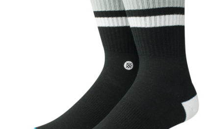 Stance Mens Boyd 4 Crew Socks Black