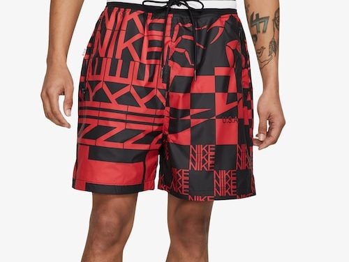 Nike Mens Scorp Shorts Black/Red