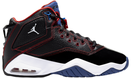 Jordan Boys B'Loyal Basketball Shoes Black/White/Red
