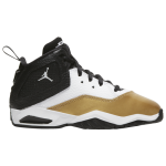 Jordan Boys B'Loyal Basketball Shoes White/Black/Metallic Gold