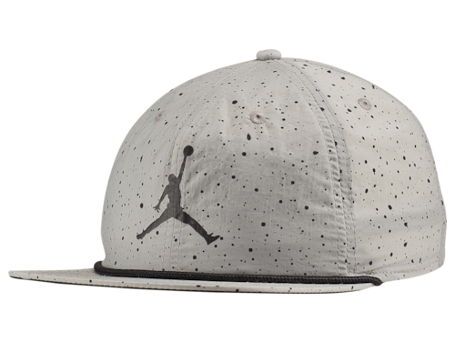 Jordan Poolside Cap Light Smoke Grey/Black