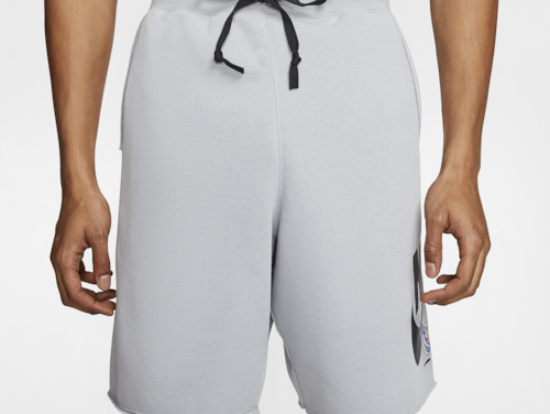 Nike Mens Hike Alumni Shorts Gray