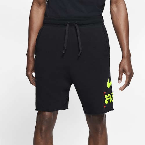 Nike Mens Catching Air Alumni Shorts Black