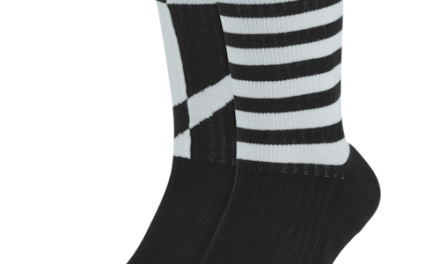 Nike 2 Pack Sneaker Sox Essential Crew Socks Black/White