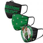 Boston Celtics 3 Pack Face Coverings – Adults