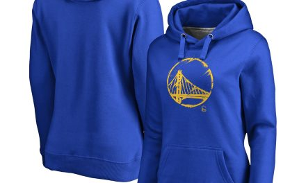 Golden State Warriors Iconic Splatter Graphic Hoodie – Royal