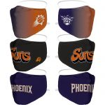 Phoenix Suns 3 Pack Face Coverings – Adults