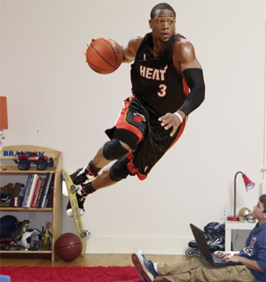 wade life size poster